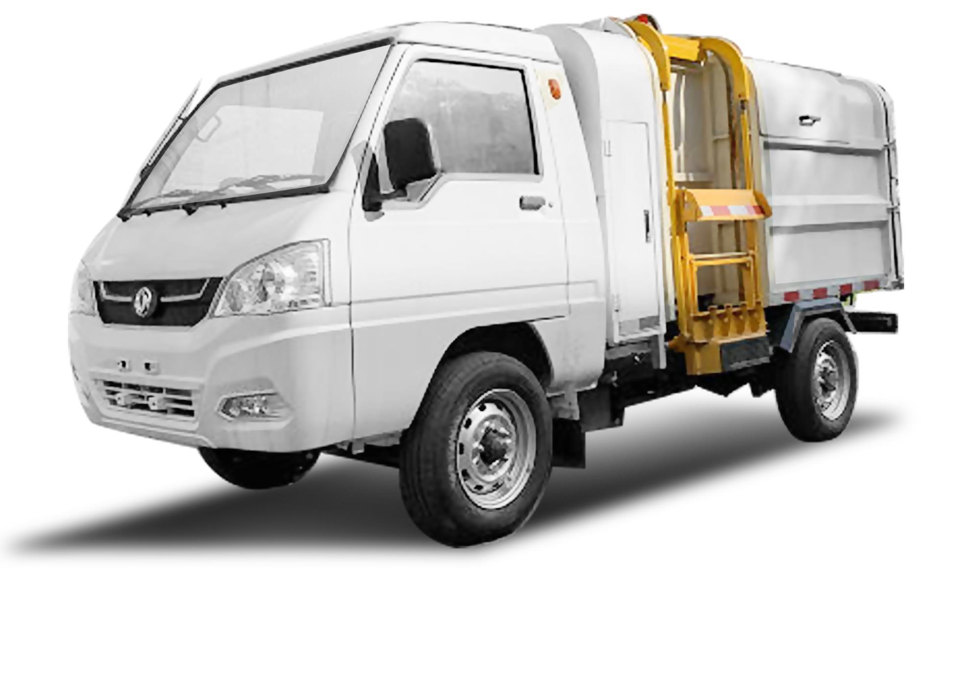 万博手机版max网页版牌EQ5030ZZZBEV2纯电动自装卸式垃圾车